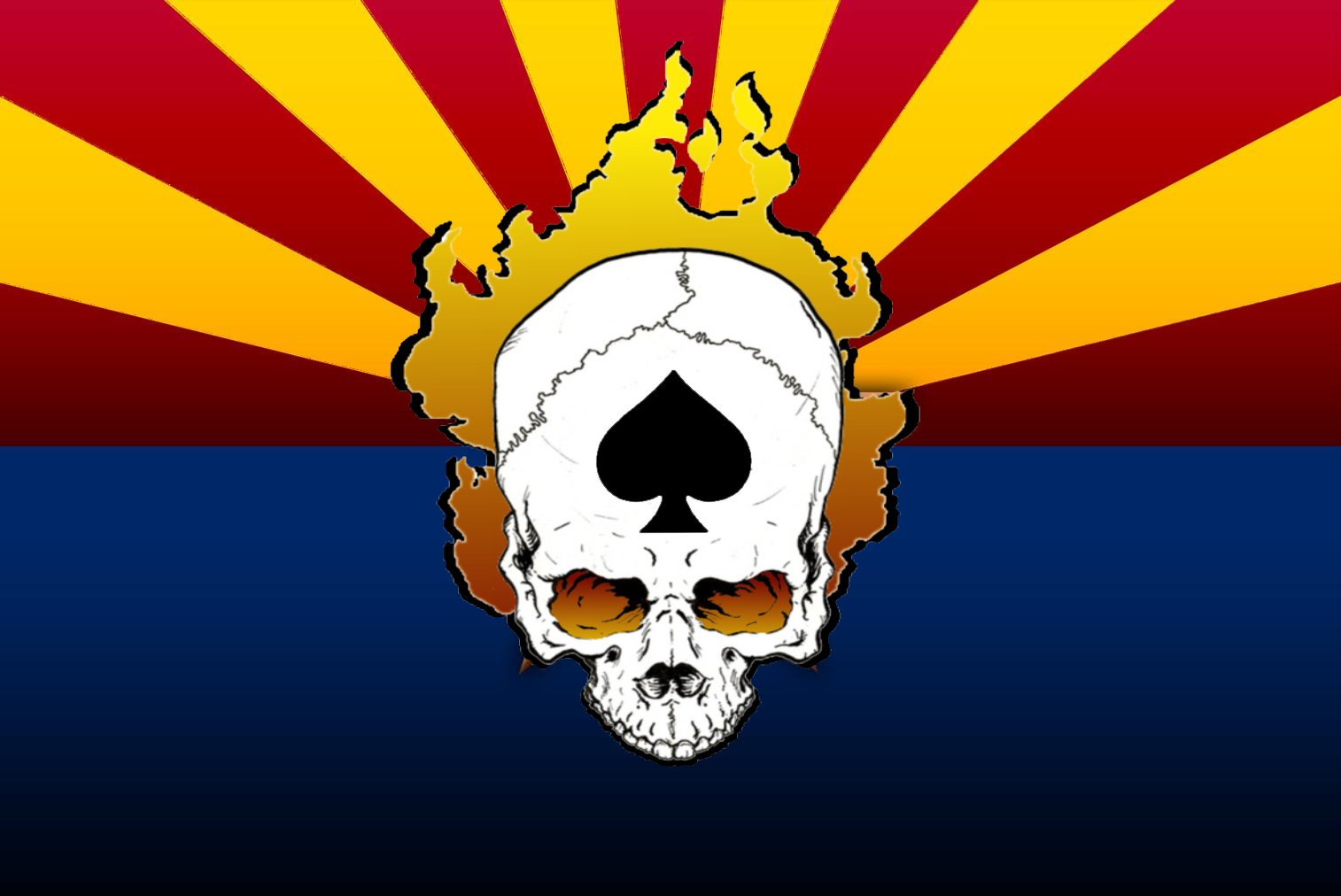 az_flag with Skull&Spade