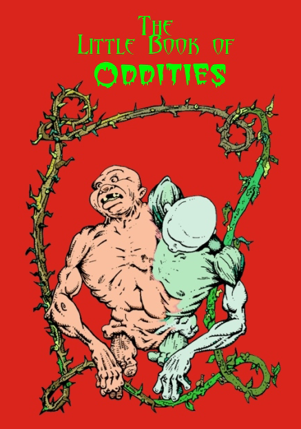 little book of oddities front cover